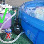 Песчаный фильтр для воды в бассейне