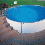 Проект установки каркасного бассейна на территории дачи