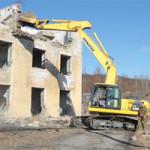 Работы с зданием с учетом кадастрового акта