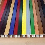Разнообразие цветов для создания ПВХ профиля для окна