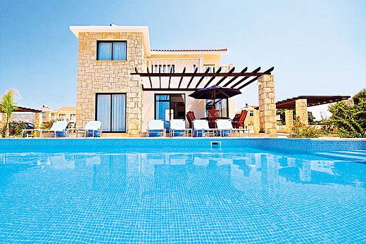 Шикарная вилла на Кипре с бассейном