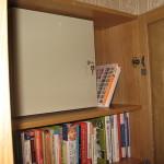 Счетчик спрятанный внутри шкафа