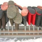 Сушилка для обуви в прихожую своими руками