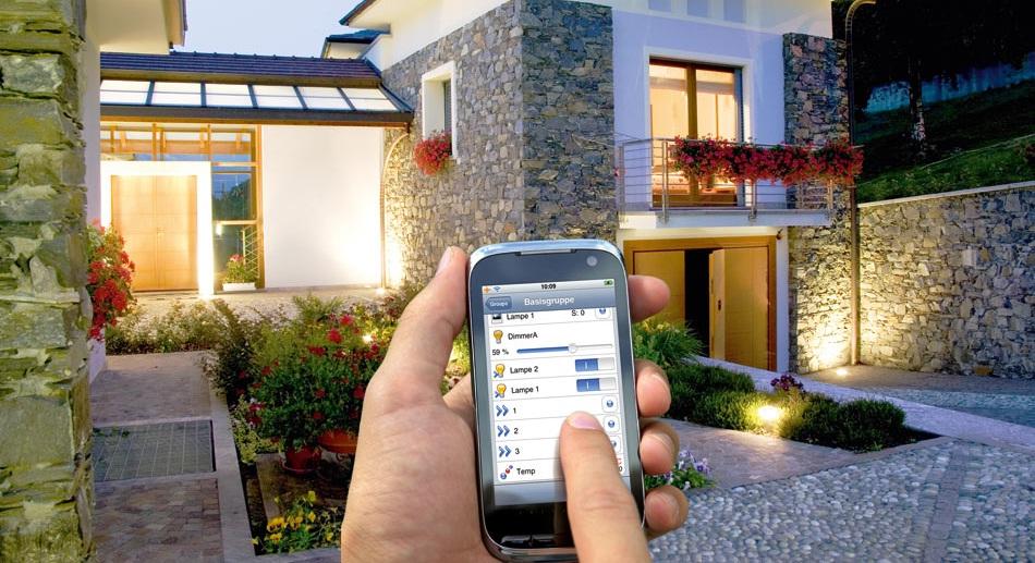Управление прихожей в умном доме с помощью телефона