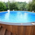 Установка каркасного бассейна: за и против