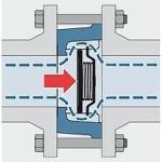 Устройство обратного клапана пружинного дискового типа