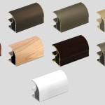 Вариации цвета системы из алюминия для шкафа купе