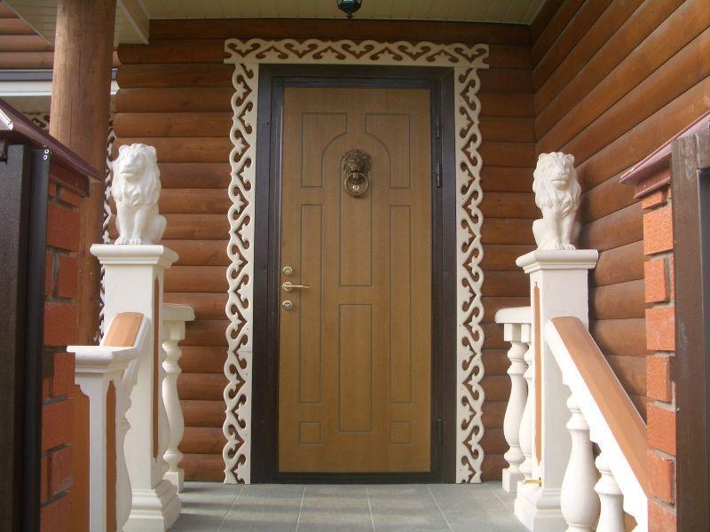 Как сделать входные двери своими руками фото