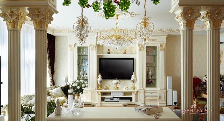 Элегантная мебель стиля ампир для создания стиля прихожей
