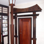 Мебель японской тематики для создания стиля прихожей