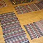 Рукодельные коврики для прихожей созданные для кантри интереьра