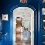 Синяя прихожая: правила сочетания цветов