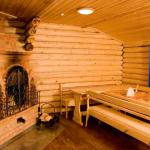 Баня из дерева и ее внешний вид внтури