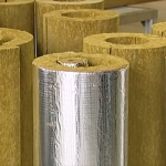 Базальтовый цилиндр для утепления труб