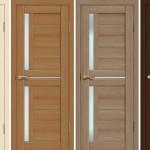 Дизайн двери из экошпона