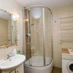 Дизайн ванной комнаты 5 кв.м. с душевой кабиной