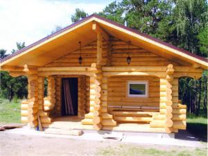 Доступная деревянная баня