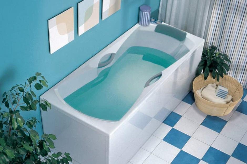 Элегантная ванна из акрила
