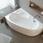 Интерьер ванной с использование акриловой ванны
