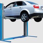 Как работает автомоюильный подъемник