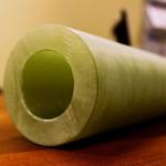 Как выглядит стеклопластиковая труба