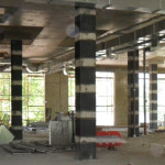 Комплекс мероприятий по укреплению сооружения