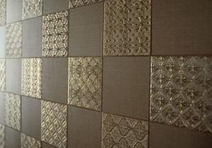 Красивая керамическая плитка коричневого цвета
