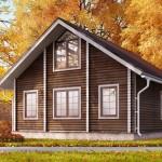 Красивый и уютный проект деревянного дома