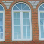 Круглые пластиковые окна
