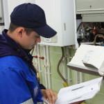 Обслуживание котлов на наличие дефектов в работе