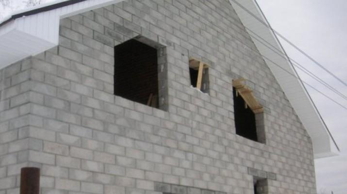 Пенобетонный блок для строительства загородного дома