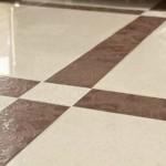 Плитка из керамогранита с блеском