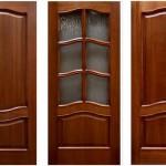 Покрытия деревянных дверей
