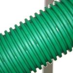 Полимерная труба для обустройства дренажа