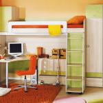Практичная детская мебель
