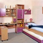 Практичная и красивая мебель для детской
