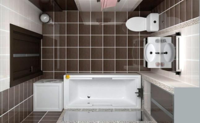 Правила выбора отделки и сантехники для ванной 5 кв.м.