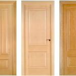 Разнообразие оттенков деревянных дверей