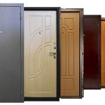 Разнообразие внешнего вида стальных дверей