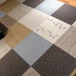 Разнообразный дизайн плитки ПВХ