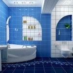 Ремонт просторной ванной комнаты