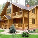 Шикарный проект дома из дерева