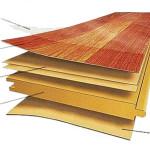 Структура напольного покрытия ламинат