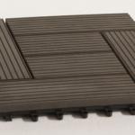 Струкутура плитки из древесно-полимерного композита