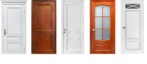 Цветовая палитра деревянных дверей