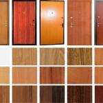 Цветовая палитра отделки входной двери