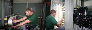 Техническое обслуживание пассажирского лифта