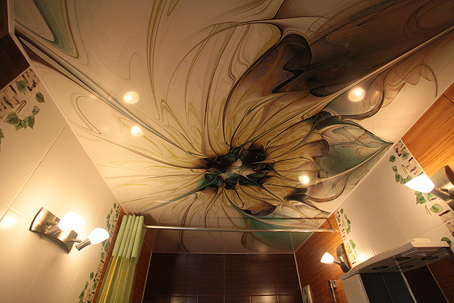 Арт дизайн потолка