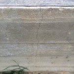 Чем опасны трещины на фундаменте