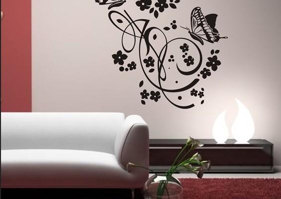Декоративные наклейки для стен